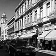 Streets Of Puebla 9 Art Print