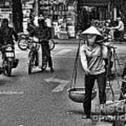 Streets Of Saigon Art Print
