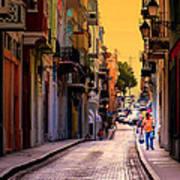 Streets Of San Juan Art Print