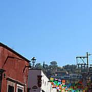 Streets Of San Miguel De Allende 2 Art Print