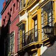 Streets Of Sevilla Art Print
