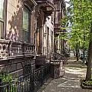 Streets Of Troy New York Art Print