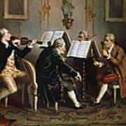 String Quartet Art Print