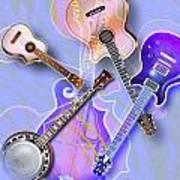 Stringed Instruments Art Print by Design Pics Eye Traveller