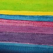 Stripes Original Painting Art Print
