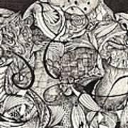 Stroke Of Midnight Art Print