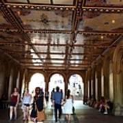 Strolling Through The Arches Art Print