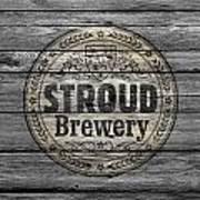 Stroud Brewing Art Print