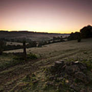 Stroud Sunrise Art Print