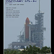 Sts-114 Discovery Art Print