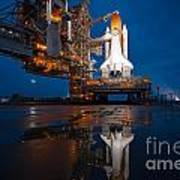 Sts 135 Atlantis Prelaunch Art Print
