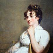 Stuart's Eleanor Parke Custis Lewis Or Mrs. Lawrence Lewis Art Print