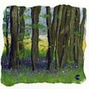 Stubb Wood Art Print