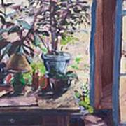 Studio Window Art Print