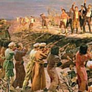 Study For The Execution Of The Twenty Six Baku Commissars Art Print