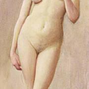 Study Of A Nude II Art Print