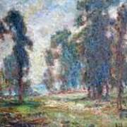 Study Of An Impressionist Master Art Print by Quin Sweetman