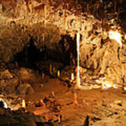 Stump Cross Caverns Art Print