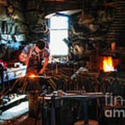 Sturbridge Village Blacksmith Art Print