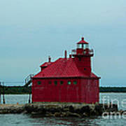 Sturgeon Bay Lighthouse Art Print