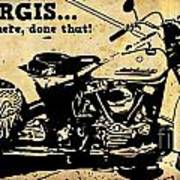 Sturgis Been There Done That Art Print