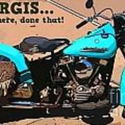 Sturgis Motorcycle Rally Art Print