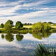 Sturminster Newton - River Stour - Dorset - England Art Print by Natalie Kinnear