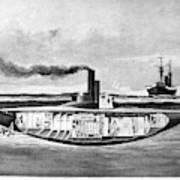 Submarine 'holland,' 1898 Art Print