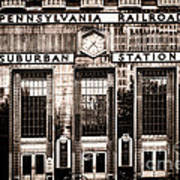 Suburban Station Art Print by Olivier Le Queinec