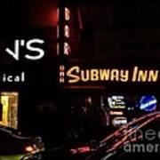 Subway Inn Bar - Vanishing Places Of New York Art Print