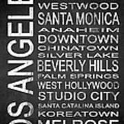 Subway Los Angeles 1 Art Print