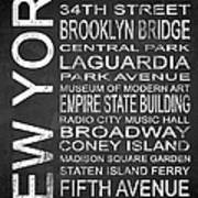 Subway New York 3 Art Print