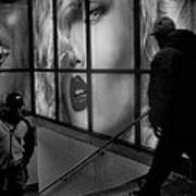 Subway Noir Art Print
