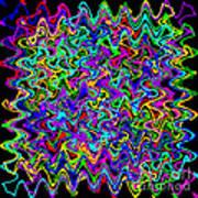 Sudoku Connections Wave Art Print