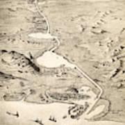 Suez Canal Art Print