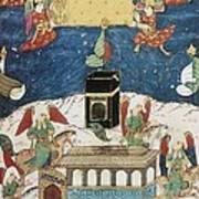 Sufti Abdullah 16th Century. Angels Art Print
