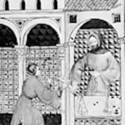 Sugar, 14th Century Art Print