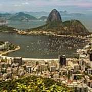 Sugar Loaf Mountain In Rio De Janeiro Art Print