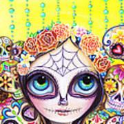 Sugar Skull Princess Art Print