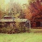 Sugarhouse In Autumn Art Print