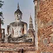 Sukhothai Historical Park - Sukhothai Thailand - 011332 Art Print
