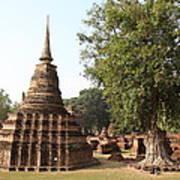 Sukhothai Historical Park - Sukhothai Thailand - 011333 Art Print