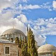 Suleiman Mosque 18 Art Print