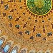 Suleiman Mosque Interior 08 Art Print