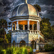Sulfur Springs Gazebo Art Print