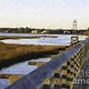 Sullivan's Island To Old Village Art Print