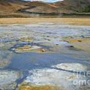 Sulphur And Volcanic Earth Art Print