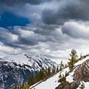 Sulphur Mountain Up High Art Print