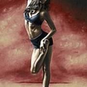 Sultry Dancer Art Print
