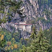Sumela Monastery In Black Sea Region Of Turkey Art Print